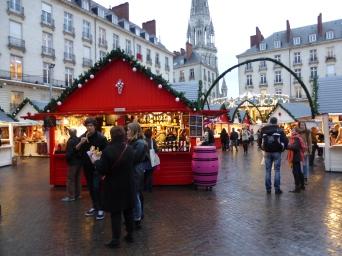 Marché de Noël de Nantes et son Carousel