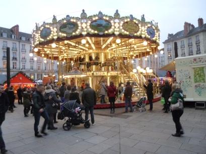 Le carrousel du Marché de Noël