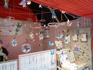 Artisan bijoux et décor en origami