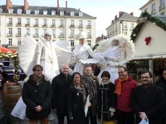 Inauguration en présence de Madame Le Maire