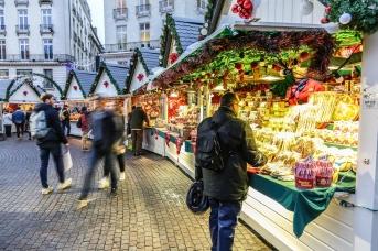 Du pain d'épices traditionnel au Marché de Noël de Nantes