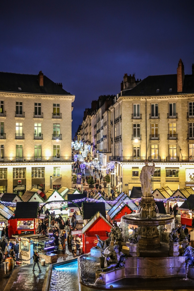 Nantes, ville lumière à Noël